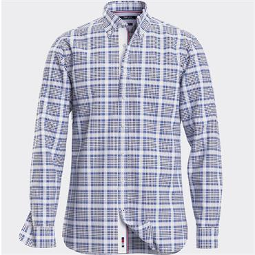 Tommy Hilfiger Check Shirt - BLUE