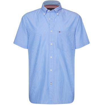 Tommy Hilfiger Ss Fine Stripe - BLUE