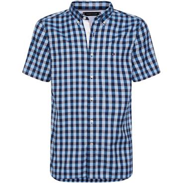 Tommy Hilfiger Gingham Shirt - BLUE