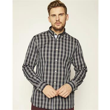 Tommy Hilfiger Multi Check Shirt - Navy