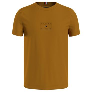 Centre Flag Graphic Tee - GOLD