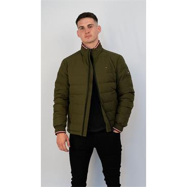 Motion Quilted Jacket - OLIVE