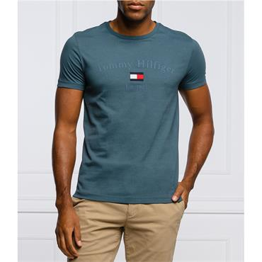 Tommy Hilfiger Graphic Tee - BLUE