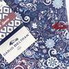 Dario Beltran Slim Fit - Blue Paisley