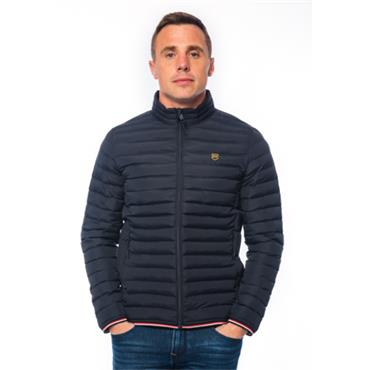 Xv Kings Casual Quilted Jacket - Navy