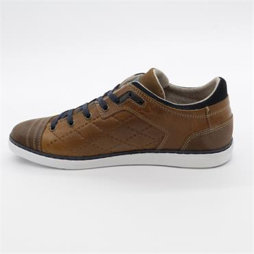 Tommy Bowe Casual Trainer - CAMEL