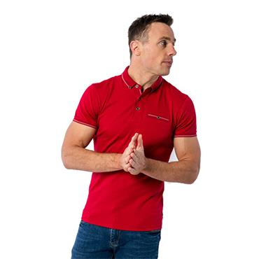 Rolleston Polo Shirt - RED