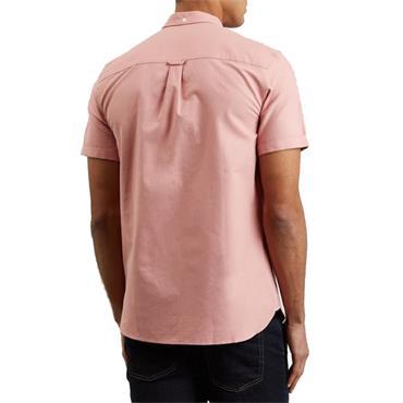 Ss Oxford Shirt - CORAL