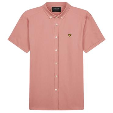 Ss Oxford Shirt - CORAL