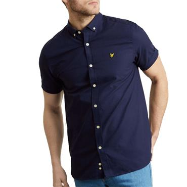 Ss Oxford Shirt - NAVY