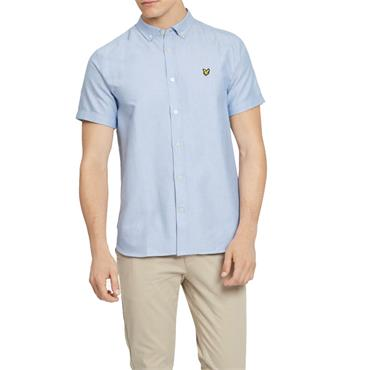 Ss Oxford Shirt - Riviera