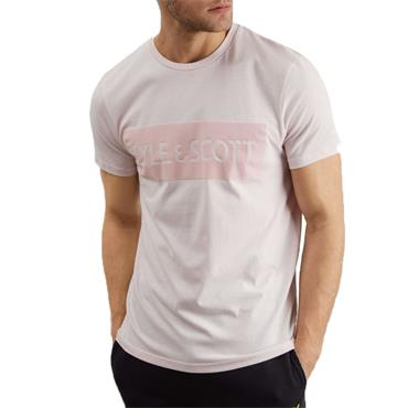 Flock Logo T-Shirt - LILAC