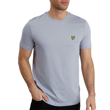 PLAIN T SHIRT  LYLE&SCOTT - Cloud Blue