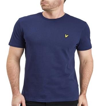 PLAIN T SHIRT  LYLE&SCOTT - NAVY