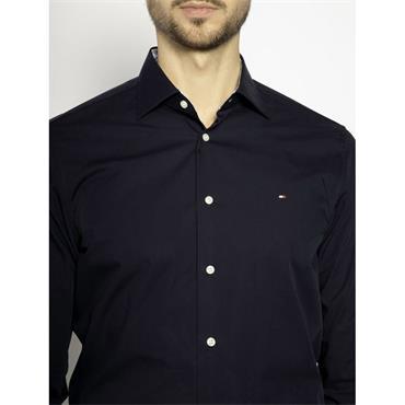 Tommy Hilfiger Poplin Classic Fit Shirt - Navy