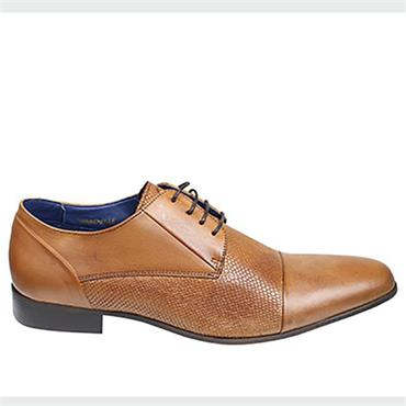 WARDVILLE SHOES BRENT POPE - COGNAC