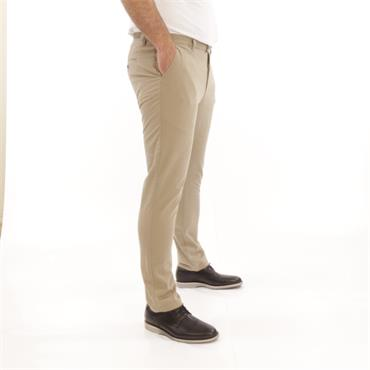 Slim Fit White Label Chino - STONE