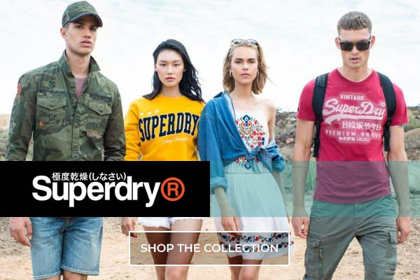 Superdry Spring Summer 2019