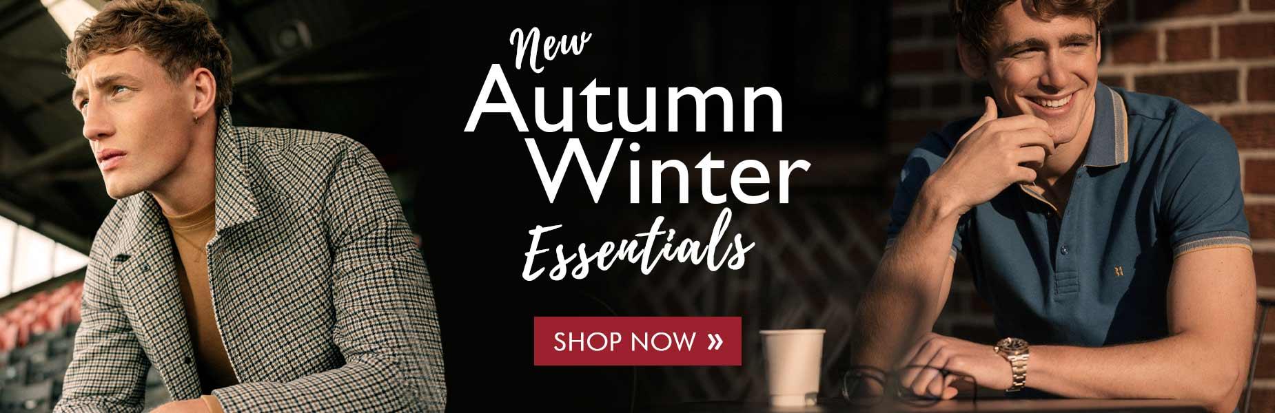 New Autumn Winter Essentials