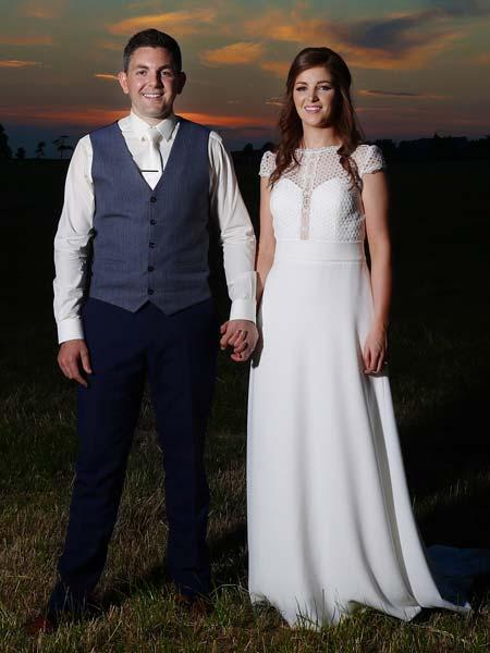 Happy couple waistcoat