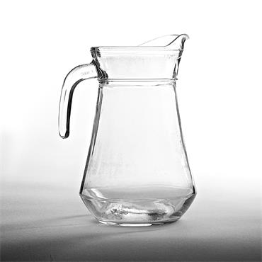 Water Jug Glass 1ltr