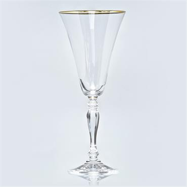 Gold Rim Wine Glass 30cl/10.5oz (20 Glasses)