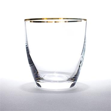 Gold Rim Water Glass 30cl/10oz (25 glasses)