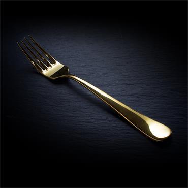 Gold Starter/Dessert Fork (10 Per Pack)
