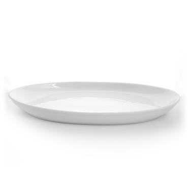 "Porcelain Oval Serving Dish 20""x11"""