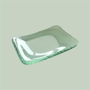 Mini Meal Glass Flat 14cm (l) 10cm (w)