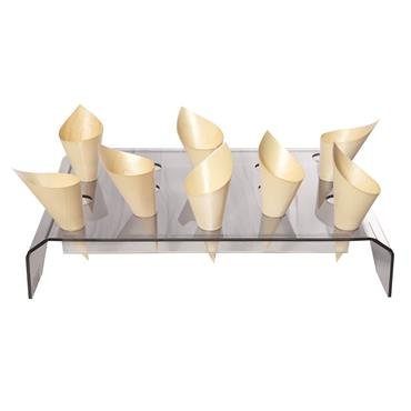 """Cone Tray Black  24 x 18"""" (18 cones)"""