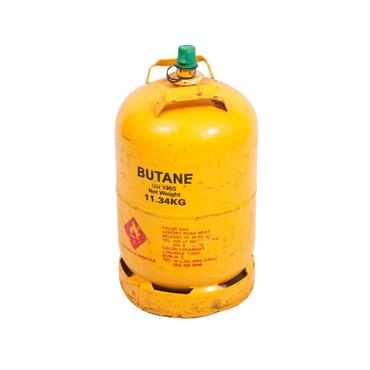 Gas Cyliner 25lb Butane yellow