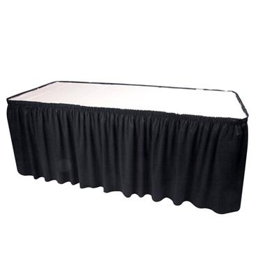 Skirting Black 21' length (requires 20 clips)