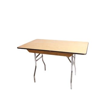 Rectangular Table 4ftx30""