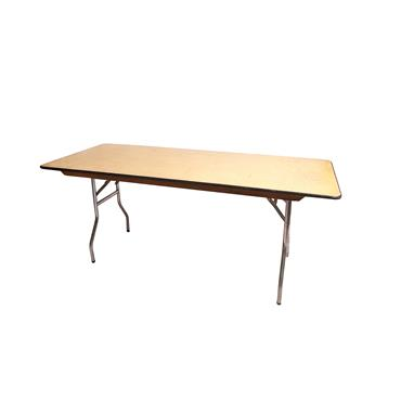 Rectangular  Table 6ftx30""