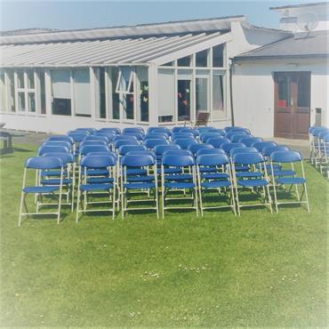 Folding Chair Blue
