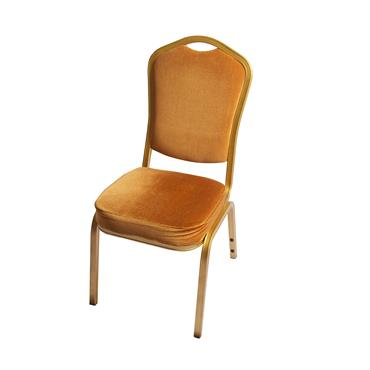 Padded Chair Gold