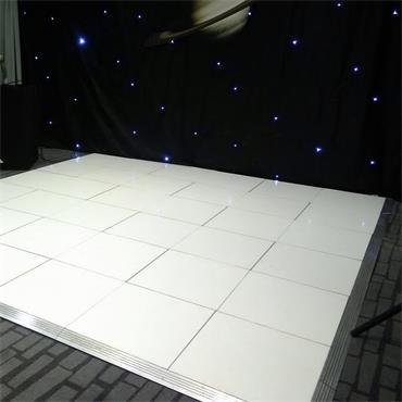 Dancefloor White 4x2