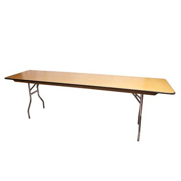 Rectangular Table 8ft x24""