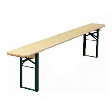 "Picnic Bench ONLY 220cm/86"" long x 27cm/11"" wide"