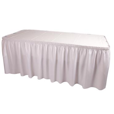 Skirting White 21' length (requires 20 clips)