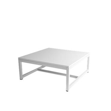 Coffee Table White 70cm square