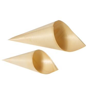 Cones 95 x 180mm large Bamboo(must order in units of 50)