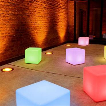 "LED Cube 16""/40cm sq 24 colours"