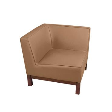 "Milan Brown Corner Unit (28""/71cm)"