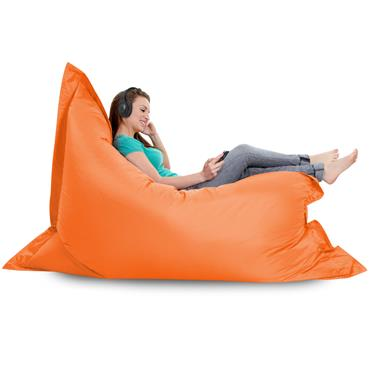 Bean Bag *ORANGE* (Giant Bean Bag) 180cm L x 140cm D