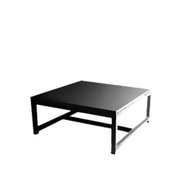 Coffee Table Black 70cm square