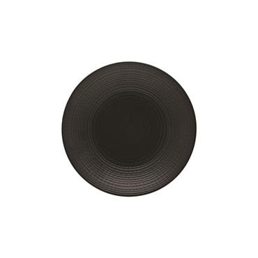 "Black Side Plate 6""/16cm"