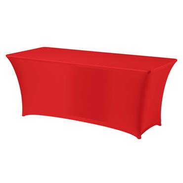 Spandex for *6x30* rectangular Table - RED