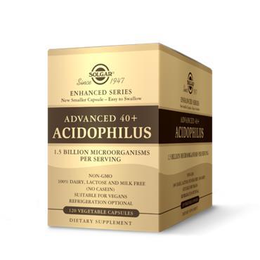 Solgar Advanced 40+ Acidophilus 120 veg capsules